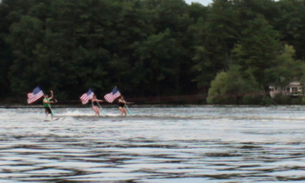 Independence Day Boat Parade at Lost Lake/Knops Pond