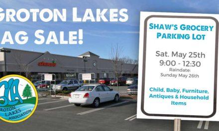 Groton Lakes Tag Sale!